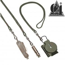 Lanière Militaire avec crochet métallique