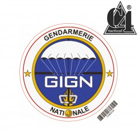 Autocollant Rond 8cm - GIGN