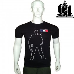 T-shirt LEGIO PATRIA NOSTRA, drapeau FR